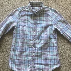 Jcrew button down boy shirt size 0